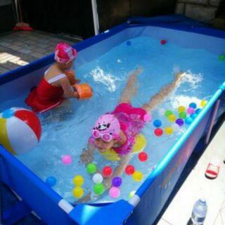Bể bơi khung kim loại betsway 2.59mx 1.70mx 61cm-56403
