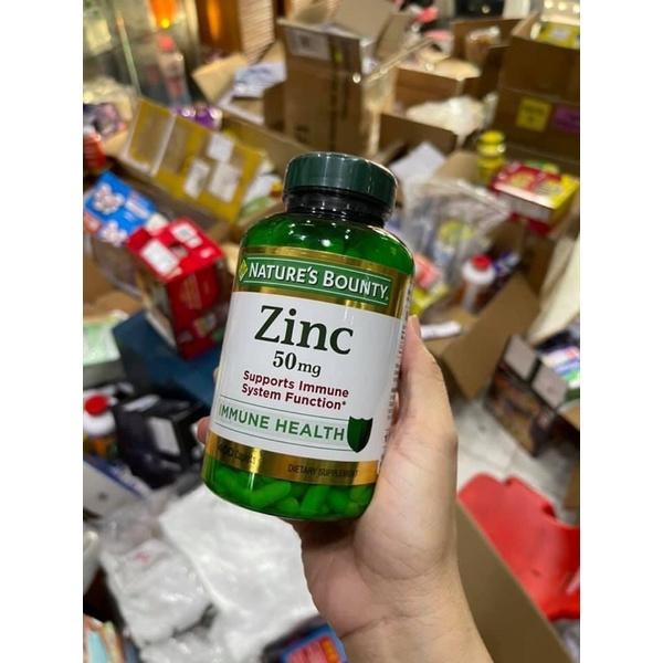 Viên uống Zinc Nature's Bounty 50mg 400 viên