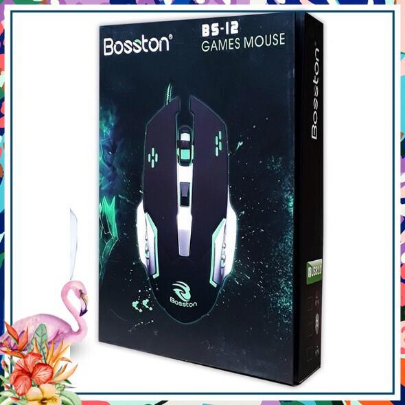 [Sale Giá Sốc]  CHUỘT CHUYÊN GAME SIÊU KHỦNG BOSSTON BS 12