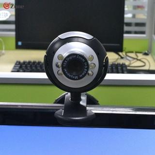 Webcam Usb 2.0 50.0m 480p 6 Led Hd Kèm Mic Cho Máy Tính Laptop thumbnail