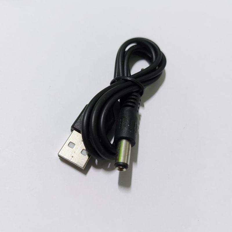 Cáp chuyển USB sang DC 5.5x2.1