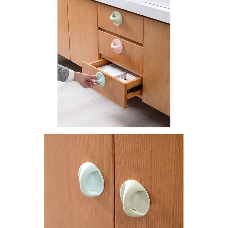 Hình ảnh thu nhỏ Tay cầm gắn cửa tủ dạng kéo chuyên dụng-3