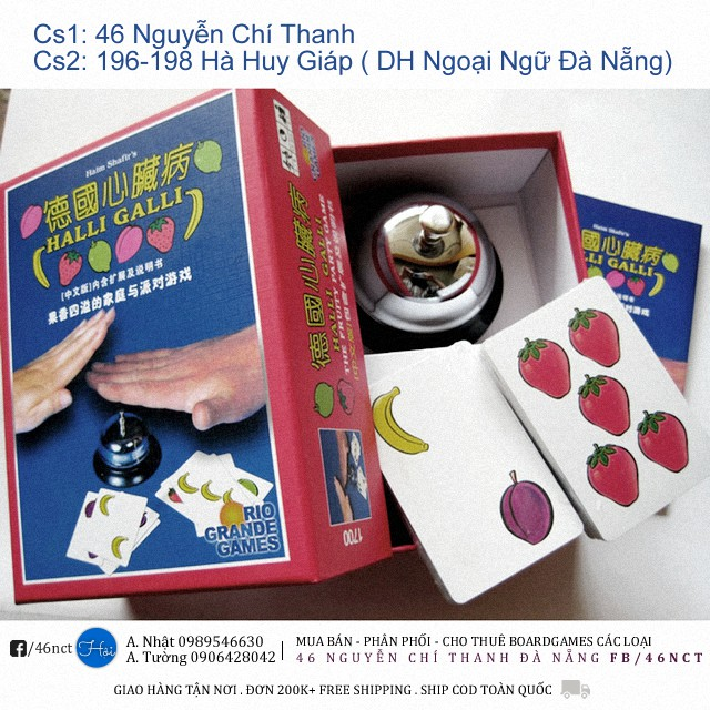 Halli Galli Đập Chuông (Board Games)