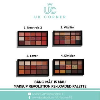 Bảng mắt 15 màu Makeup Revolution Re-Loaded Palette thumbnail