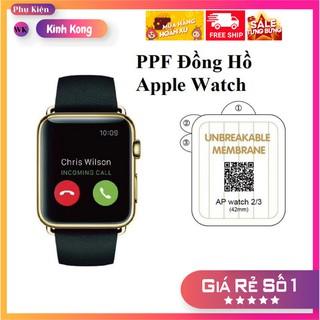Dán PPF cho Apple Watch chống trầy xước tuyệt đối, cho apple watch 1,2,3,4,5 thumbnail