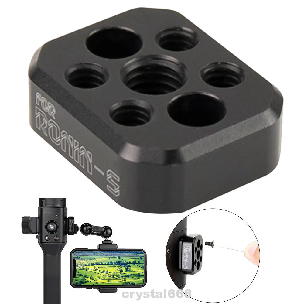 Adapter Plate Accessories Aluminum Alloy Durable Easy To Use Expansion Hobby Universal Toy For DJI Ronin-S