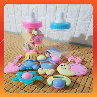 [KAS] Bình sữa đồ chơi xúc xắc cho bé LOẠI XỊN