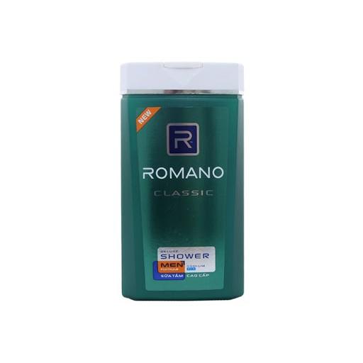 [Giao 2 Giờ] Sữa tắm Romano Classic chai 180g