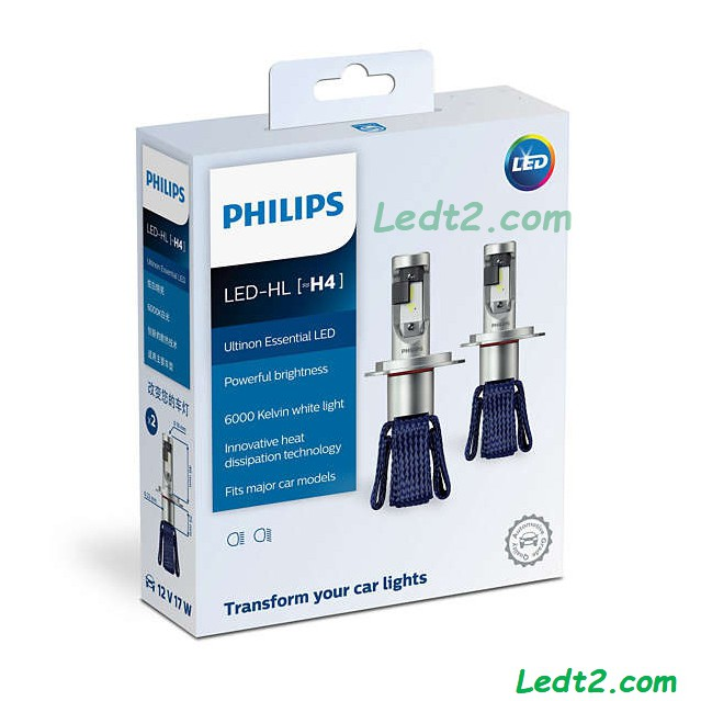 [Isop.vn] [BH 3 năm] Đèn pha LED Philips Ultinon Essential chính hãng [SL: 1 cái]