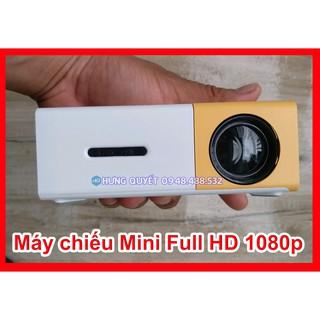 Máy chiếu mini LCD LED Projector 1080P – Máy chiếu giải trí gia đình YG300