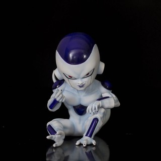 Hand-made Dragon Ball GK Frieza Q version Frieza Final form Evil taste Bixin Frieza Hand-made boxed