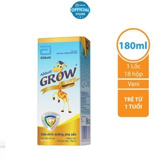Bộ 3 Lốc 4 hộp Sữa nước Abbott Grow Gold 180ml hộp
