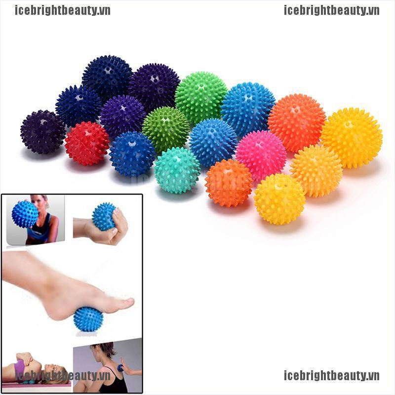 ICE massage ball trigger point sport fitness hand foot pain relief muscle relax