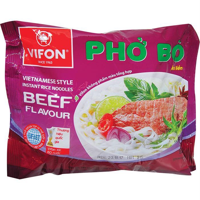 Combo 10 Gói Phở Bò - Phở Gà Vifon 65g