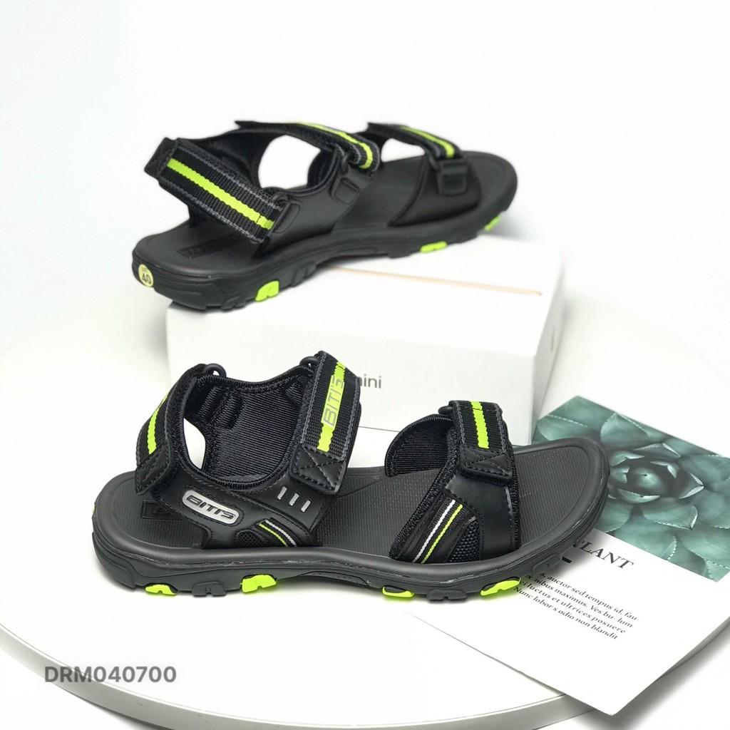 Sandal nam BlTIS ❤️FREESHIP❤️ Dép quai hậu học sinh dáng thể thao đế cao su DRM040700