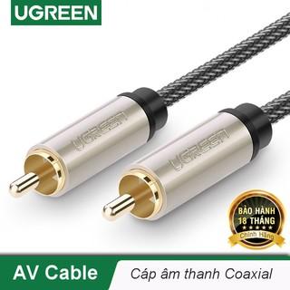 Cáp âm thanh số 2 đầu RCA Coaxial dài từ 1m đến 3m UGREEN AV133 - Hàng chính hãng