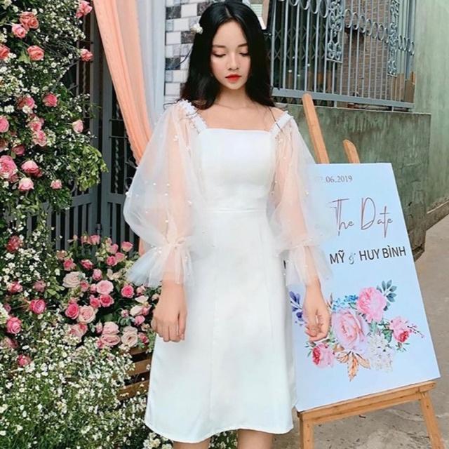 [Mã WASEPRN hoàn 20% xu đơn 99k] Đầm dự tiệc nữ trẻ trung cực sang chảnh Gin Dress