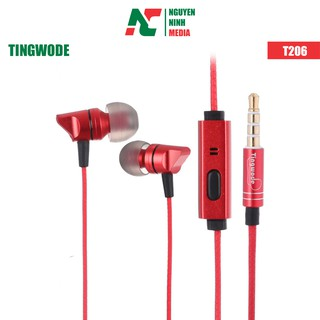 Tai nghe nhét tai Tingwode T206