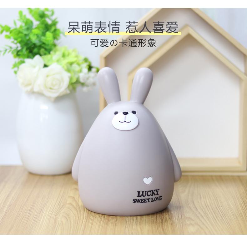 ống tiết kiệm hình chú thỏ đáng yêu
