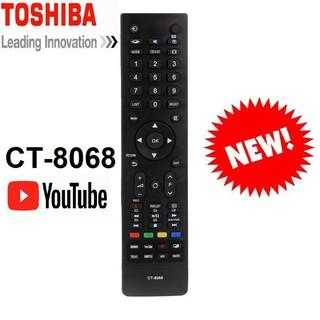 URGS ĐIỀU KHIỂN TV TOSHIBA SMART CT-8068 CÓ NÚT YOUTUBE 25 GU33