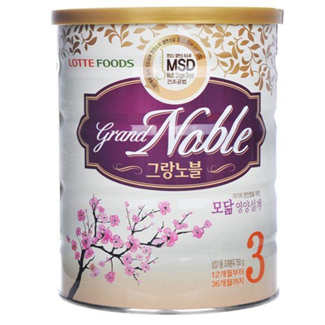 Sữa bột cho bé Grand Noble số 3 750g - 2453111 , 4330199 , 322_4330199 , 540000 , Sua-bot-cho-be-Grand-Noble-so-3-750g-322_4330199 , shopee.vn , Sữa bột cho bé Grand Noble số 3 750g