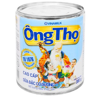 Sữa đặc có đường Ông Thọ chữ xanh 380g – CVN001