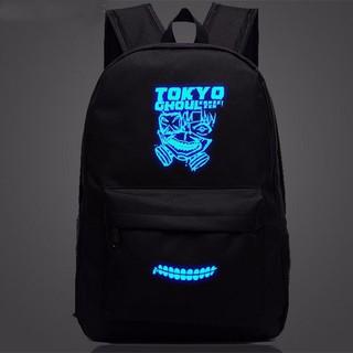 Ba lô vải dù phát quang Tokyo Ghoul N127 (Đen)