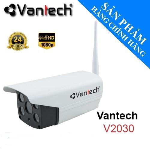 Camera IP Wifi Vantech V2030 Full HD 1080P 2.0MP Led Hống Ngoại 20M, Báo Động Thông Minh