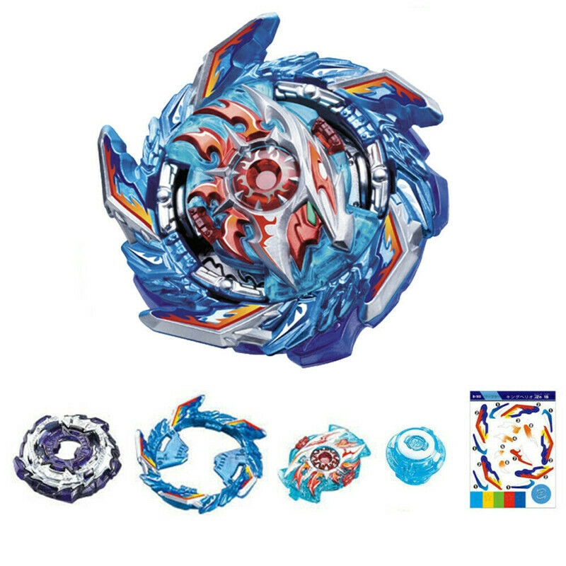 Beyblade BURST Sparking B-160 King Helios Zn 1B Only Beyblade Without Launcher