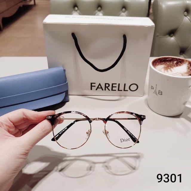 💝💖 Gọng kính tròn, càng kim loại Hàn Quốc 9301 💝💖