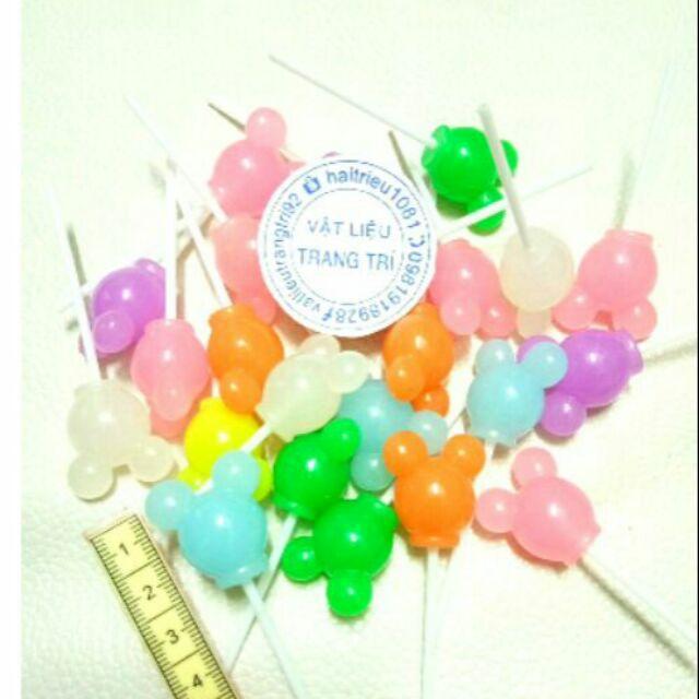 Kẹo mút mickey charm slime màu ngẫu nhiên
