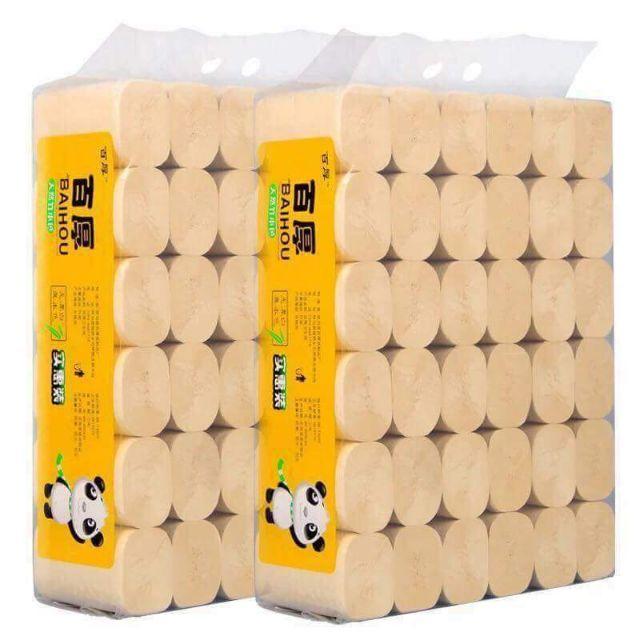 Bịch 3kg giấy cuộn gấu trúc đa năng sipiao