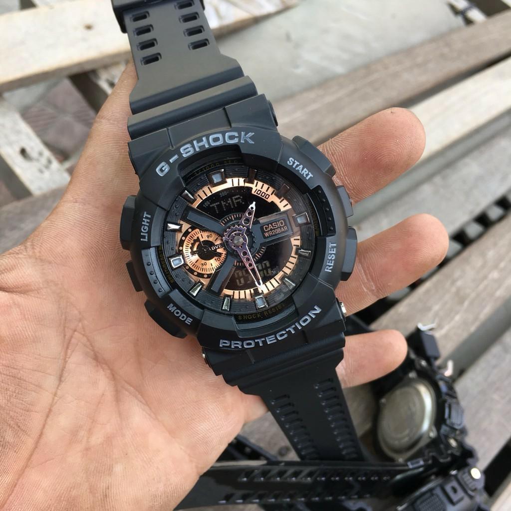 [ảnh thật] Đồng hồ thể thao nam Gshock GA110 Black-MTP WATCHES MTP-STORE MTP-STORE