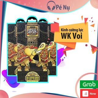 Kính Cường Lực WK Voi Elephant Dán Full Màn Hình Cho Iphone - 7 8 7Plus 8Plus X Xr XSmax 11Promax 12 12Pro 12Promax thumbnail