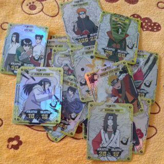Thẻ Toonies Phiên bản Naruto combo 20 thẻ