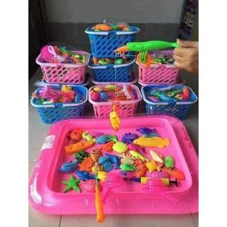 Bộ đồ chơi câu cá cho bé siêu đáng yêu