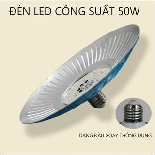 Đèn LED Tròn 50W đuôi xoay E27 tiết kiệm điện