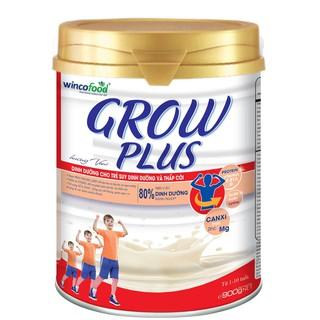 Sữa bột WINCOFOOD GROWPLUS CHUYÊN CHO TRẺ SUY DINH DƯỠNG & THẤP CÒI – 900 GAM