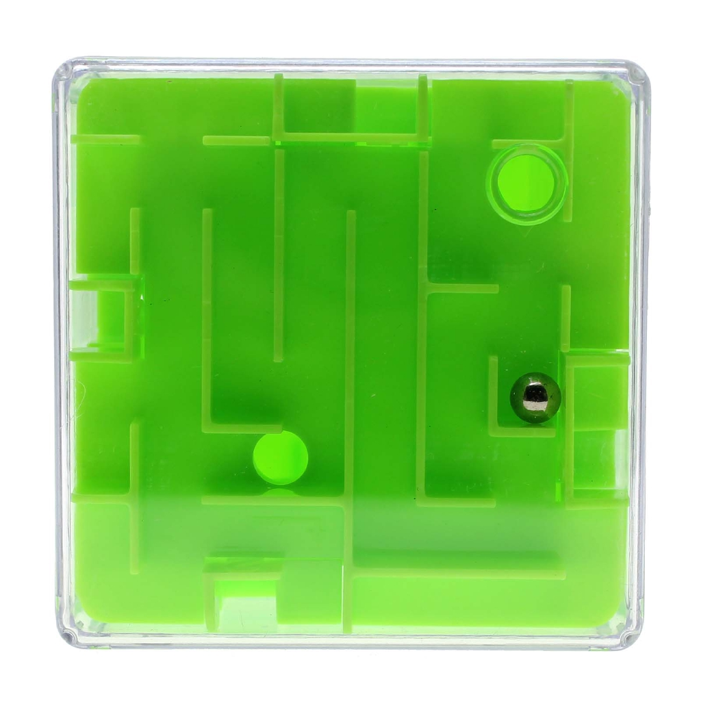 Magical 3d Maze Cube Labyrinth Rolling Toys Puzzle Game For Children