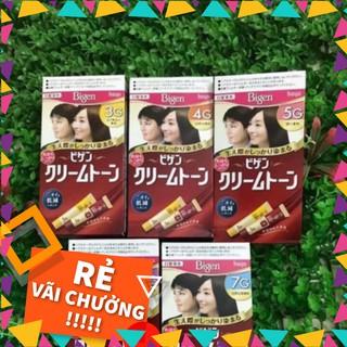 Thuốc nhuộm tóc thảo dược Bigen top 1 Nhật Bản ( nhuộm tóc phủ bạc )
