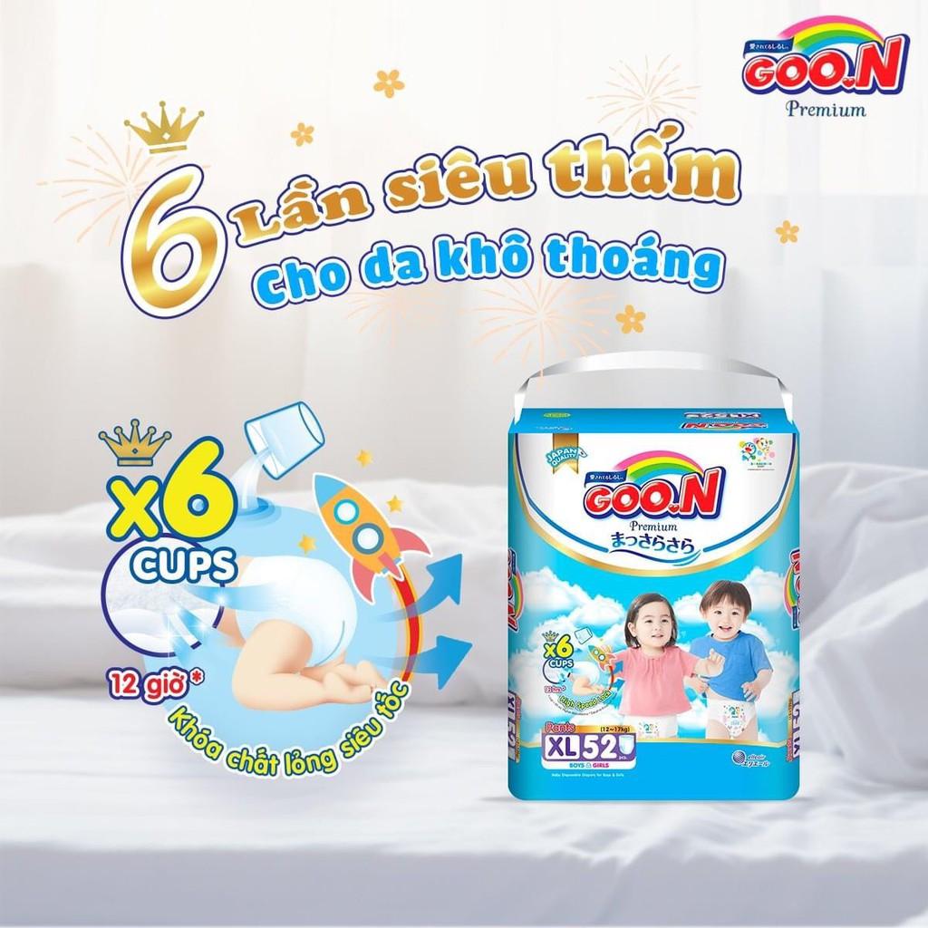 Bỉm dán/ quần Goon Premium size Nb70/S64/M60/M56/L50/L46/XL46/XL42/XXL36