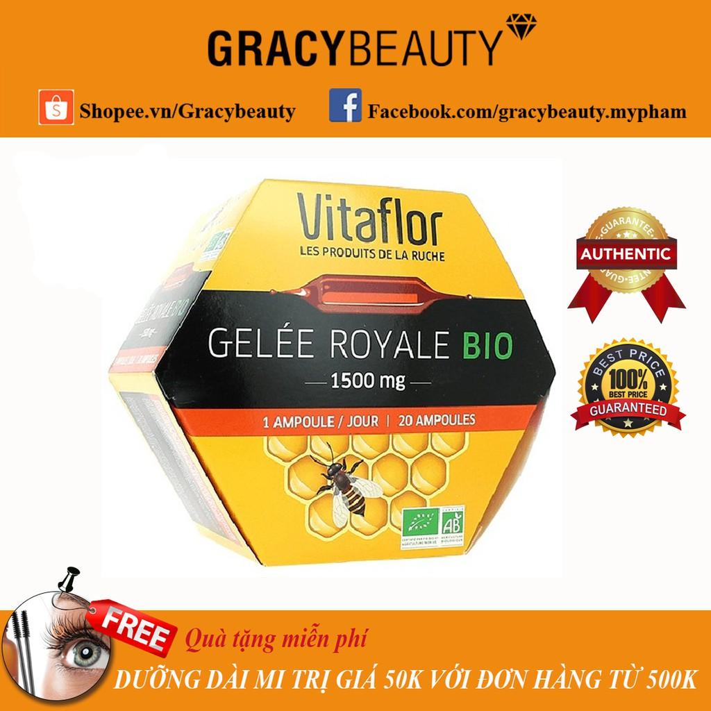 Sữa ong chúa Gelee Royale Bio Vitaflor 1500mg