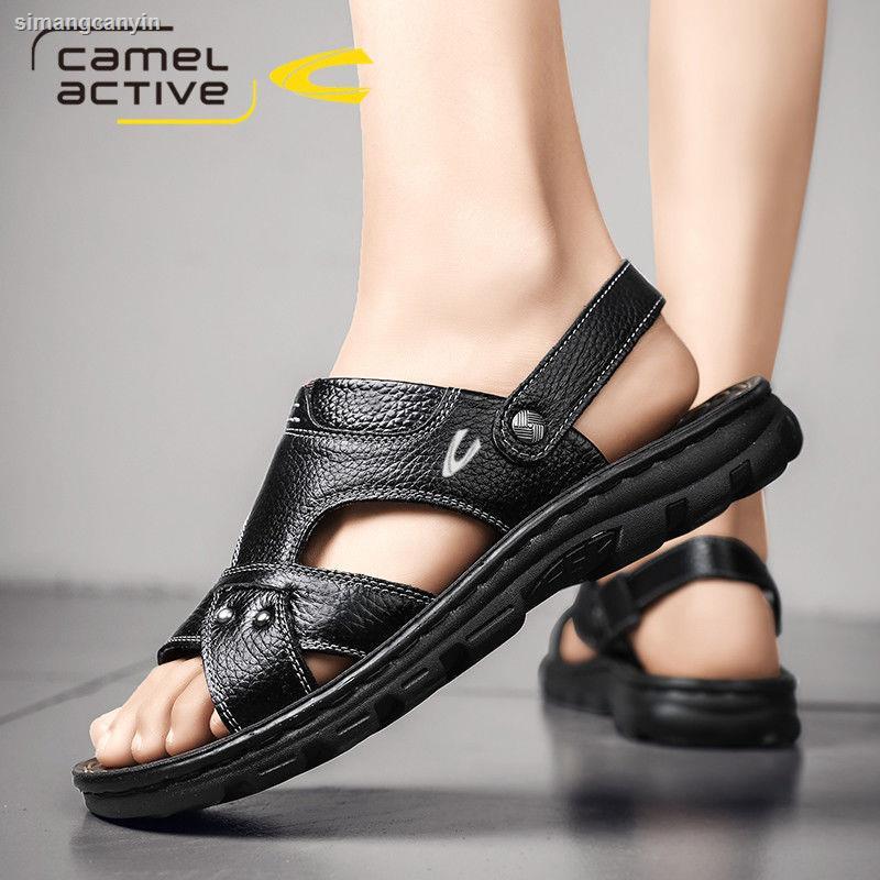 Giày Sandal Da Thời Trang Đi Biển Đức Dành Cho Nam 2021