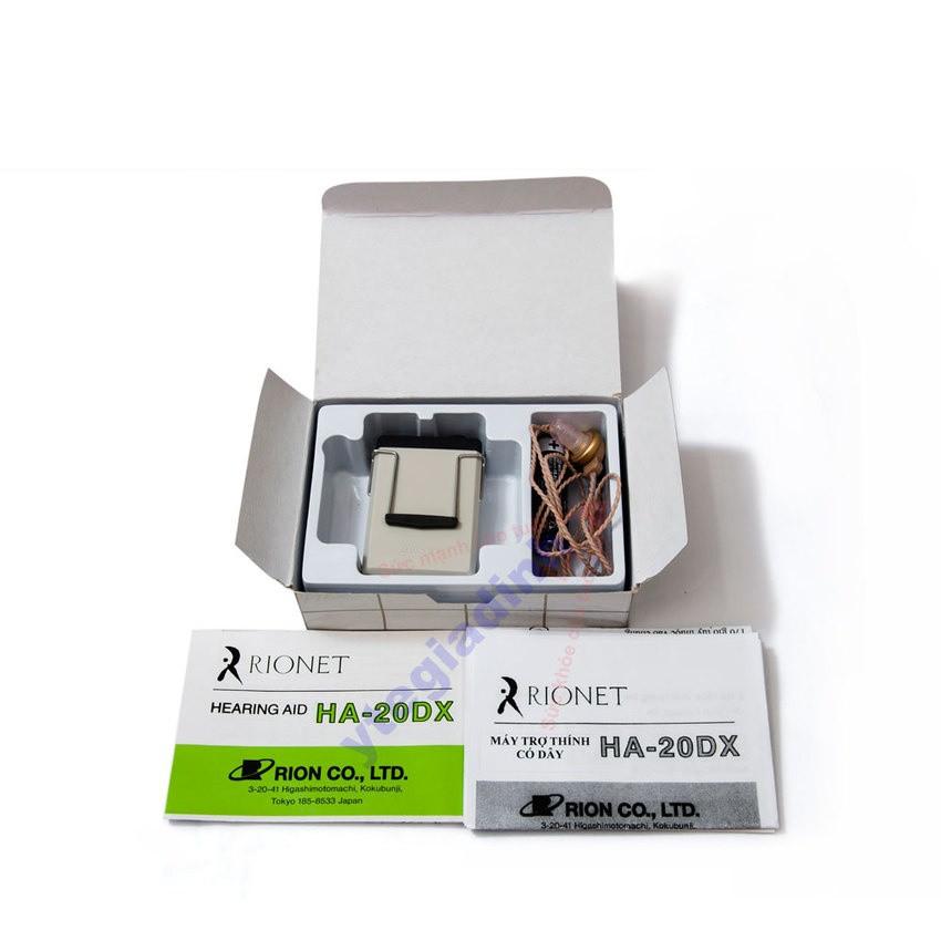 Máy trợ thính Rionet HA 20DX - 3016500 , 205340081 , 322_205340081 , 1500000 , May-tro-thinh-Rionet-HA-20DX-322_205340081 , shopee.vn , Máy trợ thính Rionet HA 20DX