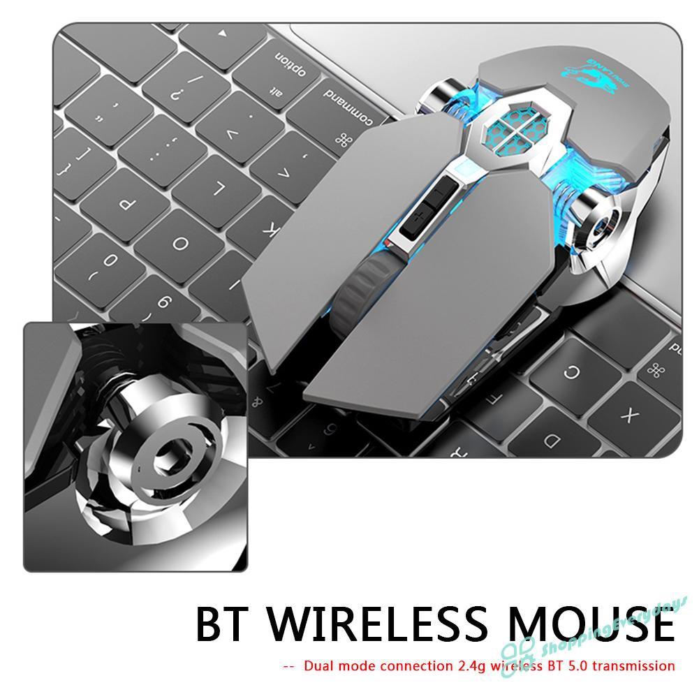 Chuột Chơi Game Không Dây Sv X13 2.4ghz Bluetooth 2400dpi