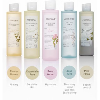 [ TO 250ml]NƯỚC HOA HỒNG MAMONDE TONER 250ML thumbnail