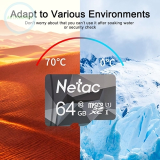 Netac Class10 Micro SD Card Memory Card GB 16 8GB GB 64 32GB 128GB SD / TF Card Flash Memory card TF card For Phone