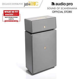 Loa Audio Pro DrumFire MultiRoom Speaker Grey