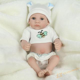 ❤OC❤ Lovely Silicone Reborn Dolls Lifelike Simulation Doll Toy Infant Gift