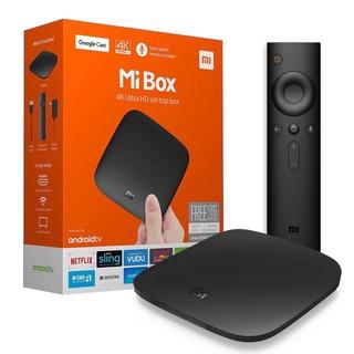 Android tivi box Ram 2G bộ nhớ trong 8G xem video 4K tv box tìm kiếm giọng nói bảo hành 12 tháng MIBOX tivi box xiaomi